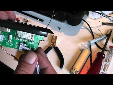 Makita Radio - Schritt-für-Schritt-Anleitung für den Anschluss eines mp3-Moduls