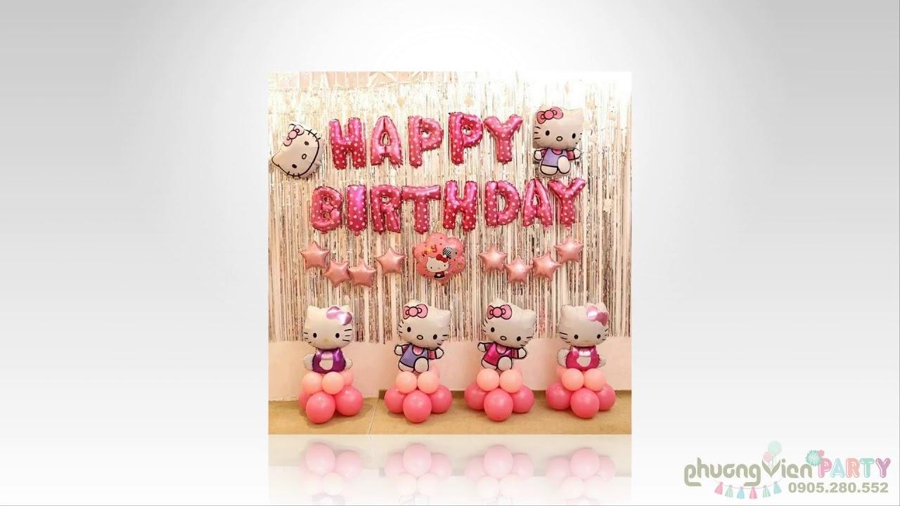 Clip 1: Cách Bơm Bóng Chữ Happy Birthday