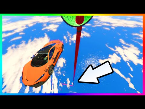 GTA 5 DLC NEW IMPOSSIBLE CUSTOM STUNT RACES - MOST CONFUSING MAZE RACE OF ALL TIME & MORE! (GTA V)