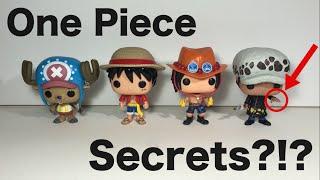 HIDDEN SECRETS IN ONE PIECE POP?!?