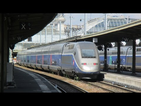 Trains at Paris Gare de Lyon - August 21st, 2015