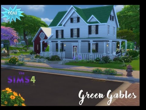 Sims 4 Speed Build: Green Gables