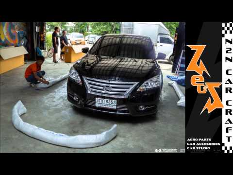 2014-07-11 :: TimeLapse Video - Nissan Sylphy with Zeuss Aeropart