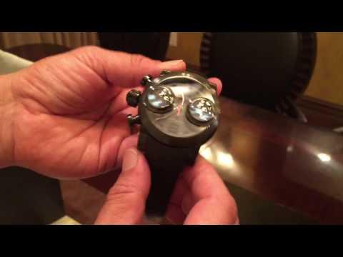 John Teng Reviews The Graham Men's Swordfish Black Dial Black Rubber Strap Watch.