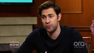 John Krasinski's biggest comedy influence is Conan O'Brien | Larry King Now | Ora.TV