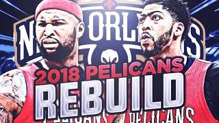3 93 OVERALLS!! 2018 NO PELICANS REBUILD!! NBA 2K18