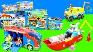 Paw Patrol Spielzeug Set Unboxing for Kids: Bunte Spielzeugautos als Kinderfilm