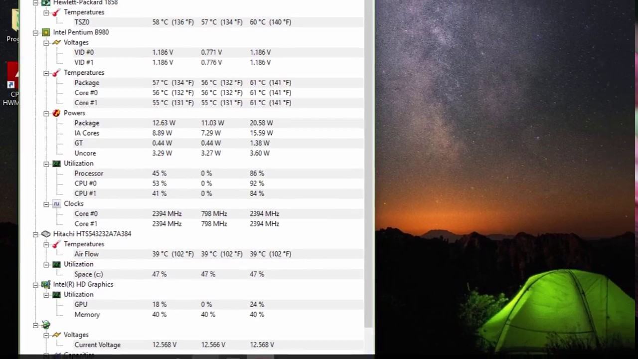 How to See Temperature of Your CPU, GPU, HDD      HWMonitor