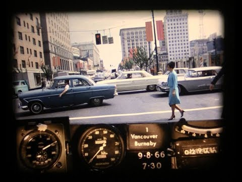 BC Road Trip Time Machine - Highway 1, Horseshoe Bay to New Westminster: 1966