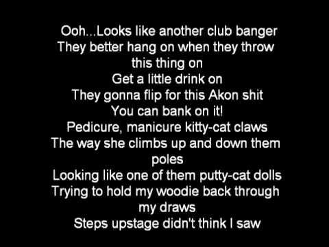 Akon Karaoke Smack that - YouTube