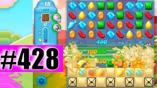 Candy Crush Soda Saga Level 428 NEW | Complete!