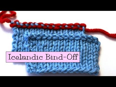 Knitting Help - Icelandic Bind-Off