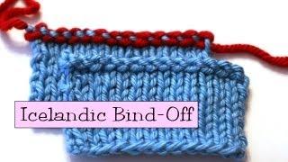 Knitting Help - Icelandic Bind-Off
