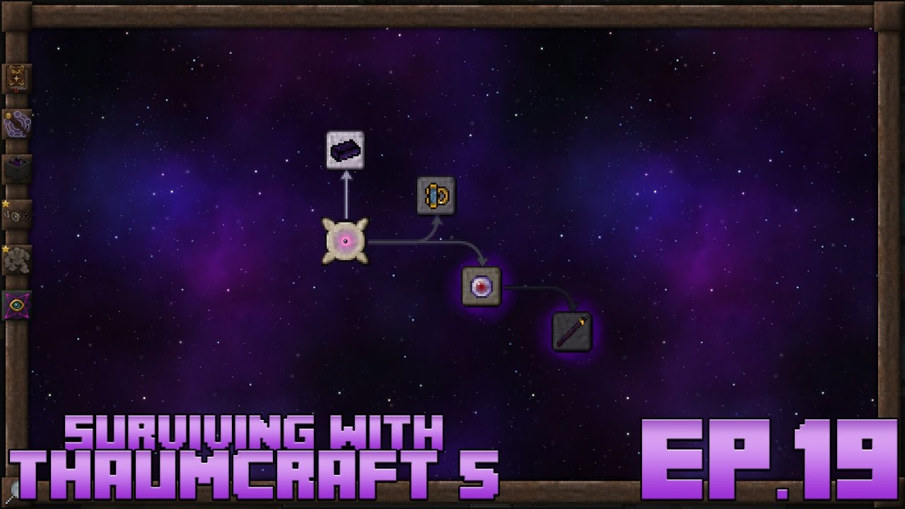 Surviving With Thaumcraft 5 :: Ep 19 - The Eldritch Tab - YouTube