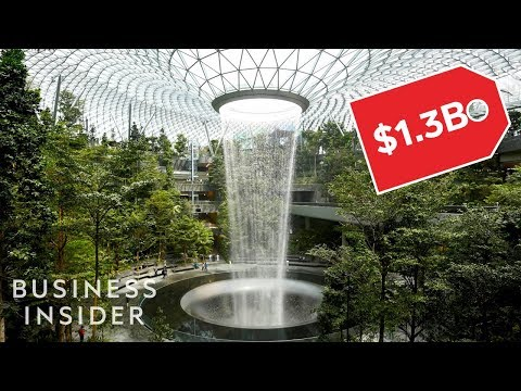 Inside Singapore Changi Airport's New $1.3 Billion Lifestyle Hub