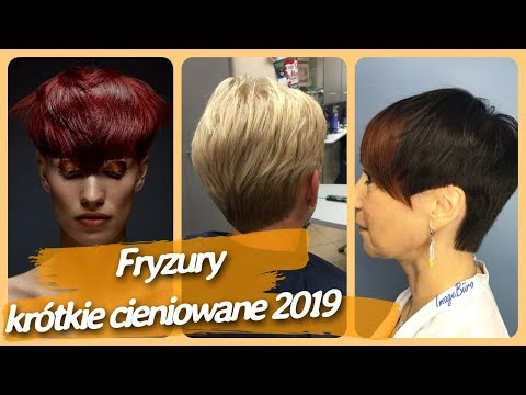 Fryzury Damskie Krc3b3tkie Cieniowane Tagged Videos On