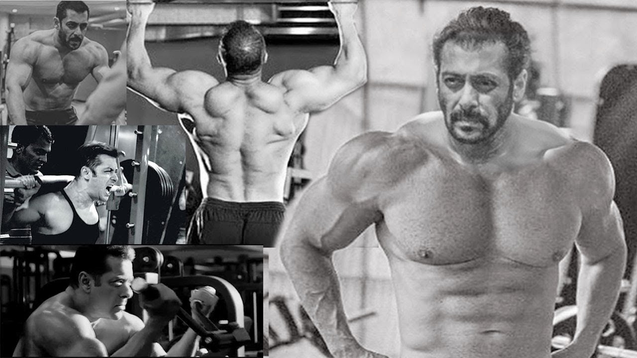 Salman Khan at gym with BODY BUILDERS | FULL UNCUT VIDEO ... |Salman Khan Workout In Gym