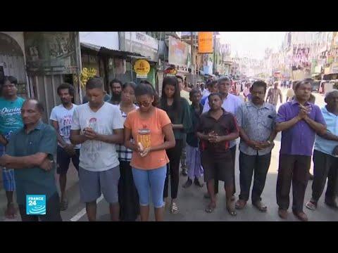 دقيقة صمت في شوارع سريلانكا حدادا على أرواح ضحايا التفجيرات  - نشر قبل 2 ساعة