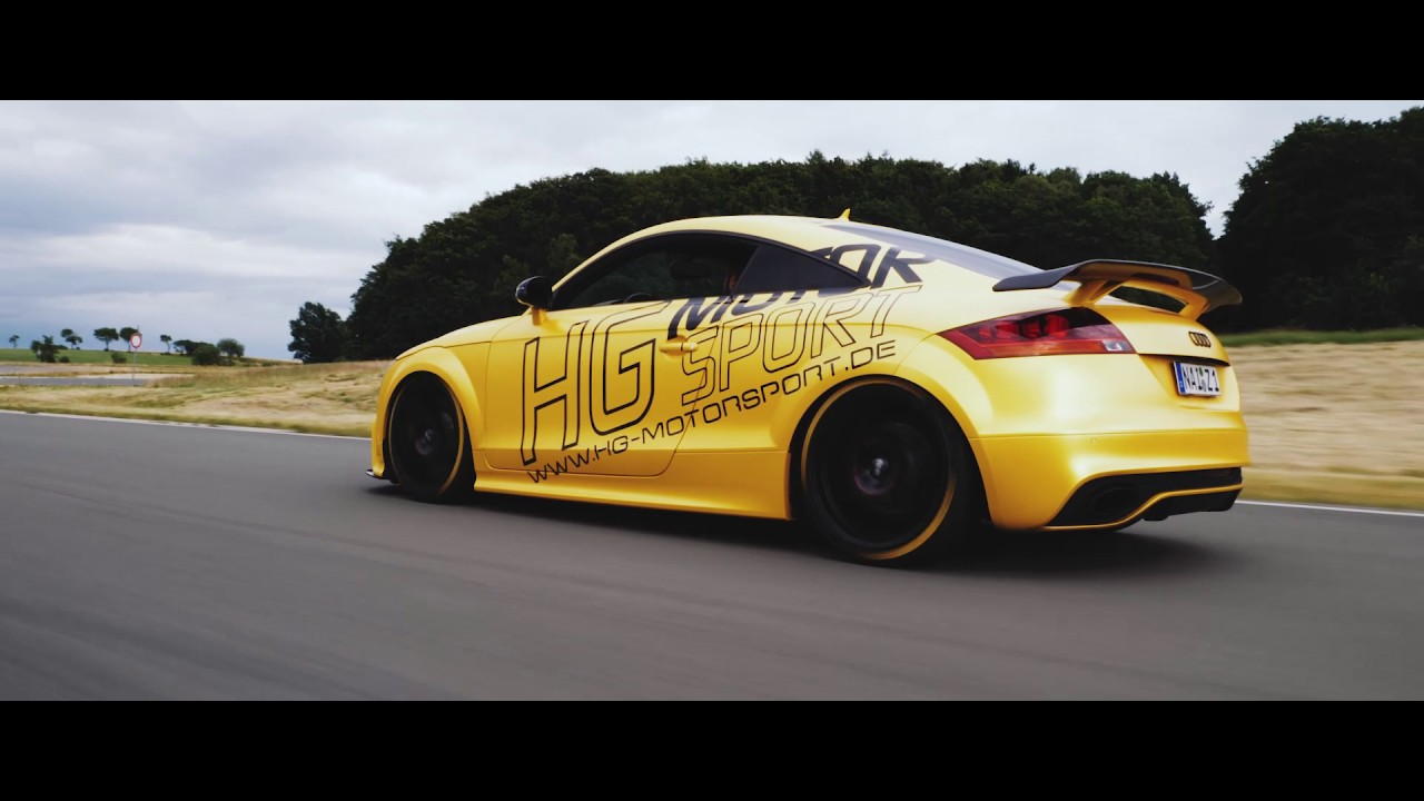 audi ttrs 8j with ego x bull x hf series exhaust sound. Black Bedroom Furniture Sets. Home Design Ideas