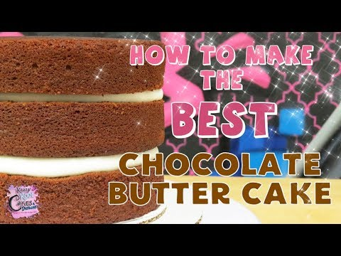 Download BEST Chocolate Butter Cake IN THE WORLD! Cake Recipe Tutorial!