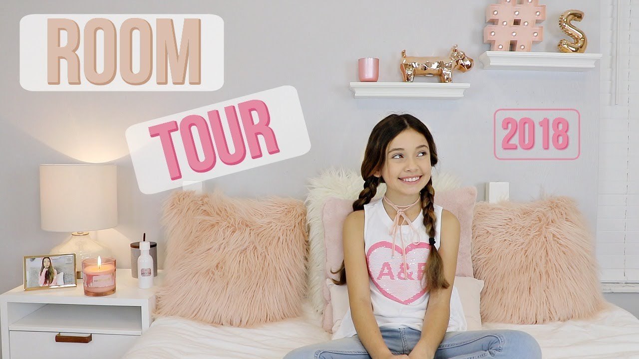 Room Tour 2018 | ROSE GOLD TUMBLR aesthetically DECOR ...
