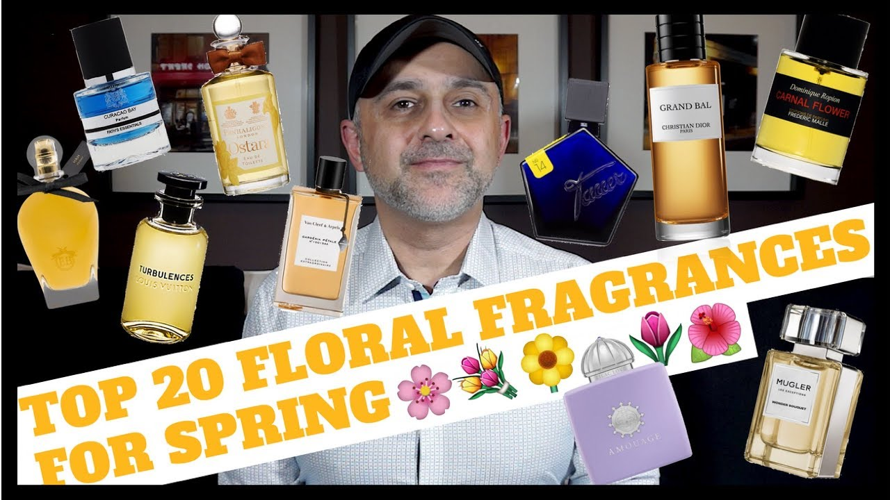 Top 20 Floral Fragrances Perfumes For Spring Floral Perfumes To