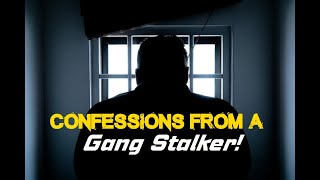 Confession of A Gang Stalker