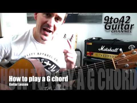 how to play a g chord on the guitar youtube. Black Bedroom Furniture Sets. Home Design Ideas
