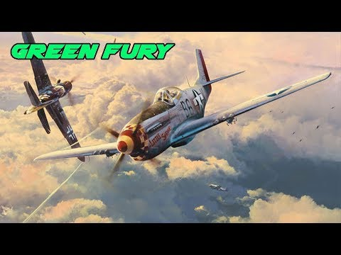 Fight of the week - P51D30 Vs Yak9P - War Thunder - Dog fighting