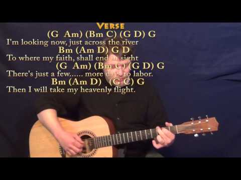 Beulah Land (Squire Parsons) Fingerstyle Guitar Cover Lesson in G with Chords/Lyrics