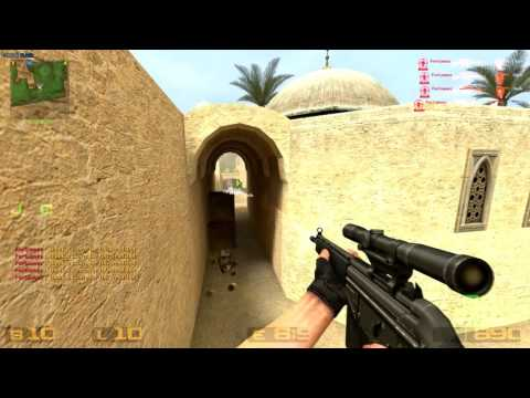 Counter-Strike: Source - HvH hack (EzHook) [FREE DOWNLOAD] #6 - No speed up & 60 FPS!!