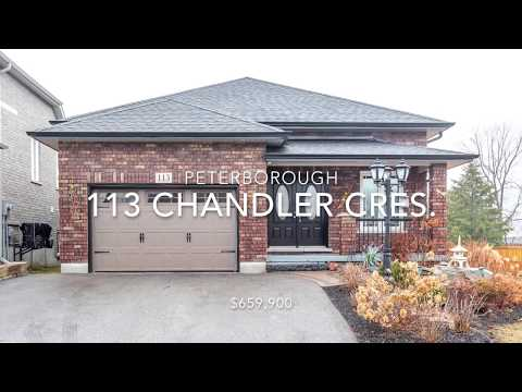 113 Chandler Cres., Peterborough ON