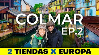 Le regalé su PRIMER VIAJE EN TREN por Europa! 😀🚂   2 Tiendas X Europa Ep.2 🌍 Alex Tienda