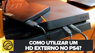 DICA: COMO USAR HD EXTERNO NO PS4?