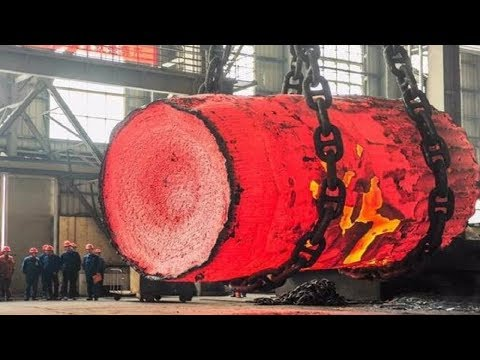 Dangerous Biggest Heavy Duty Hammer Forging Process, Fastest