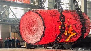 Dangerous Biggest Heavy Duty Hammer Forging Process, Fastest Hydraulic Steel Forging Machine MP3