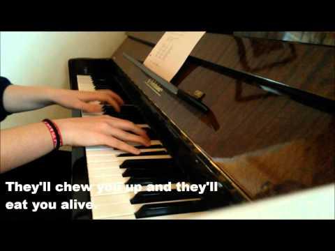 Unclear - Kodaline (piano cover + lyrics) mp3