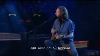 Eddie Vedder - Without you (lyrics on screen)