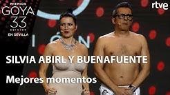 Mejores momentos Silvia Abril y Andreu Buenfuente   Goya 2019