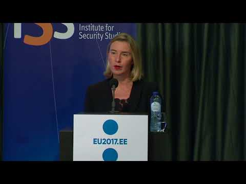 Mogherini makes keynote address at EU Institute for Security Studies conference on Hybrid threats
