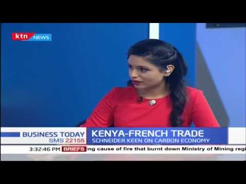 President Macron's visit comes as French firms face stiff competition in Kenya