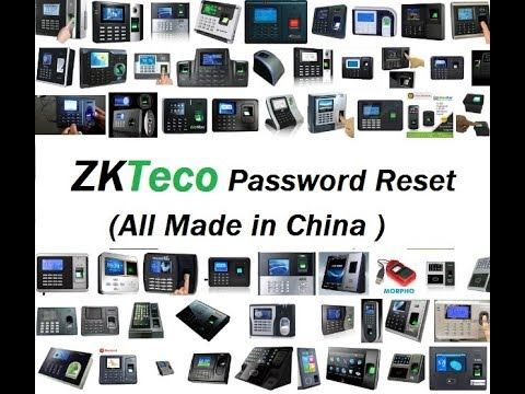 ZKTeco Admin Password Reset and Attendance Management Software Installation  Guide