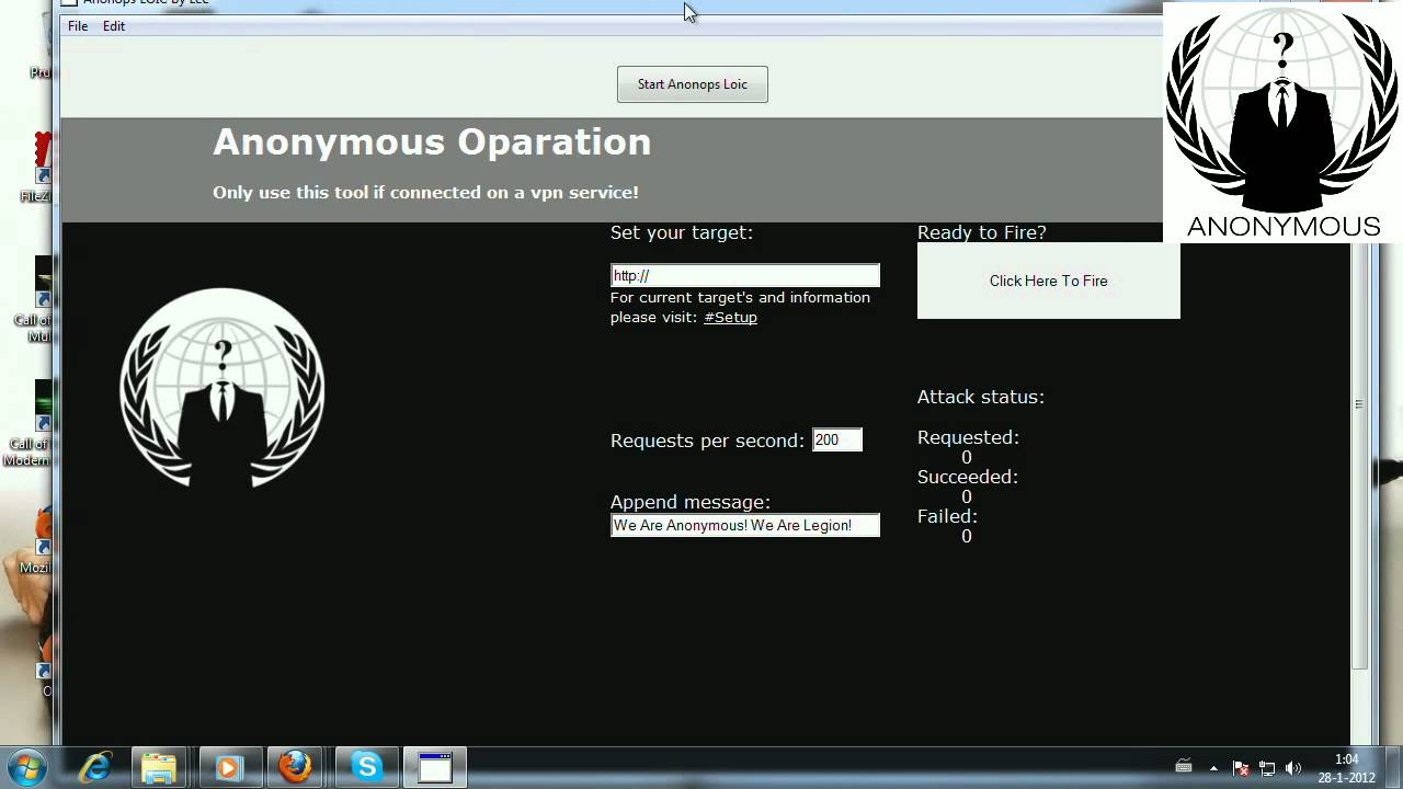 anonymous loic