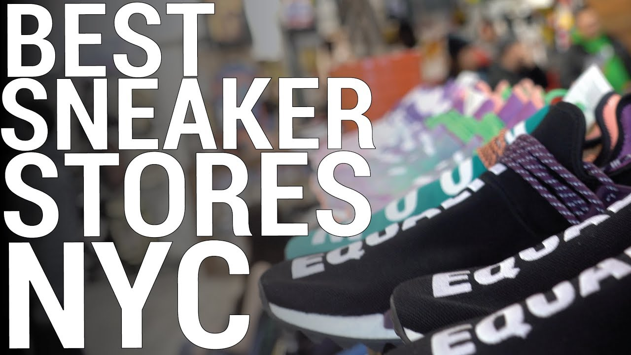 cf6765a8670 THE BEST SNEAKER STORES IN NYC (PART 1) - YouTube