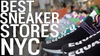 THE BEST SNEAKER STORES IN NYC (PART 1)