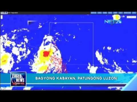 Tropical storm 'Kabayan' reaches Luzon