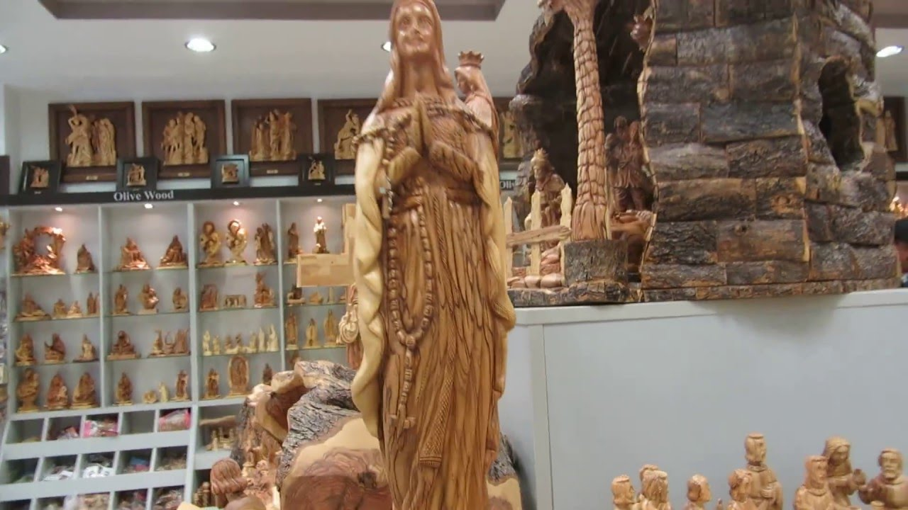Bethlehem Nativity Souvenirs The Famous Olive Wood Hand