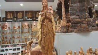 Bethlehem Nativity Souvenirs - The Famous Olive Wood Hand Carvings