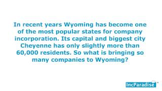 Advantages Of Incorporating Your Startup In Wyoming