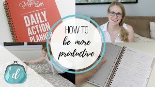 How to be more productive!